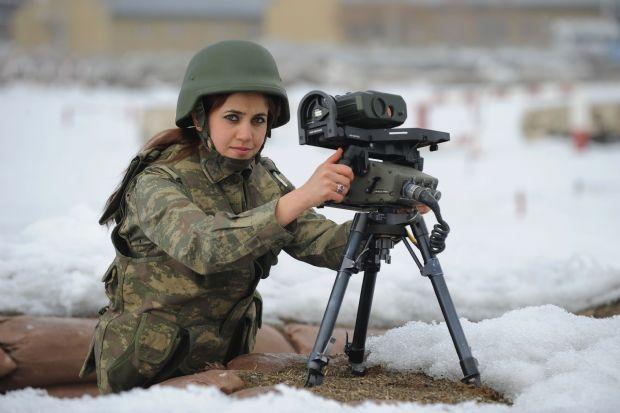 bayan-asker Bayanlar İçin Askerlik Doğru Meslek mi