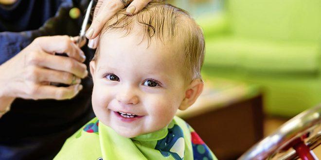 Bebek ve Çocukları Eğlendiren Saç Kesim Hizmetleri